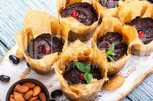 Vegan muffins from kidney beans