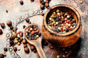 Spice-pepper peas or peppercorn