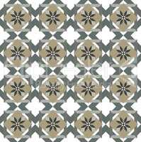 Green Olive leaves pattern