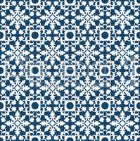Portuguese pattern of white leaves