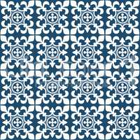 Blue and white Portuguese pattern Tiles