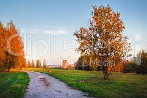 Picturesque autumn landscape