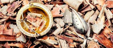 Natural aspen bark