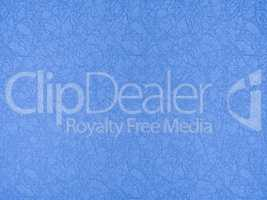 Textile blue abstract background with implicit ornament