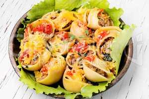 Italian style pasta