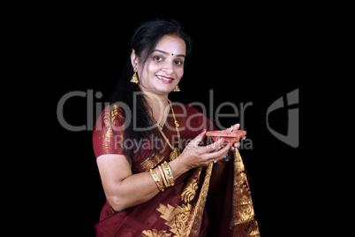 Diwali Indian Woman