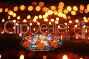 Hindu Ritual in Diwali