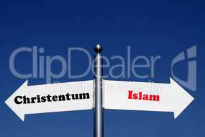 Christentum oder Islam