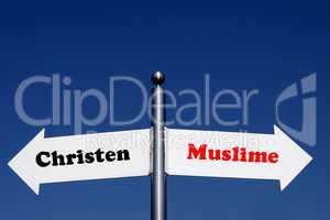 Christen oder Muslime