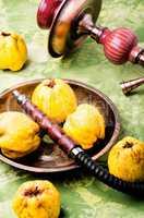 Shisha with aroma quince