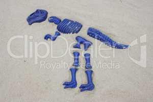 blue T rex