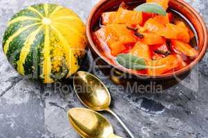 Homemade pumpkin jam
