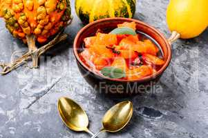 Pumpkin confiture, jam, sauce