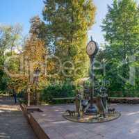 Odessa City Garden panoramic view