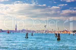 San Marco Square, Doge's palace and other sights of Venice, view