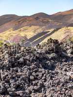 Volcano Etna in Sicily