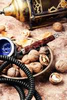 Shisha with with walnut flavor