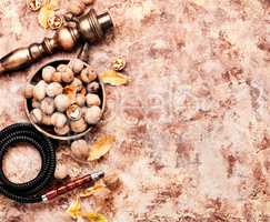 Shisha with aroma walnut