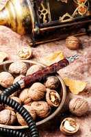 Shisha with with walnut flavor