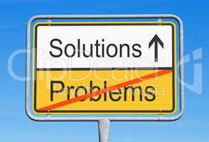 Solutions instead Problems