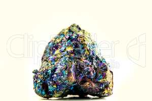 Bornite, also known as peacock ore