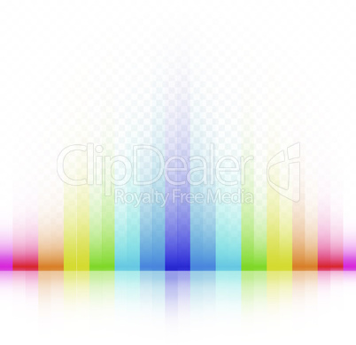 rainbow striped colors background