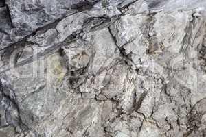 Rocks at  Partnachklamm in Garmisch-Partenkirchen, Bavaria, Germ