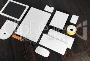 Stationery for branding design