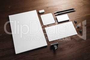 Stationery for branding