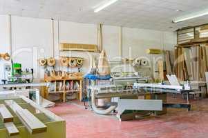 Joinery, furniture workshop