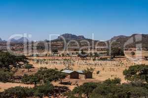 Abreha Atsbeha Christian church in Tigray region of Ethiopia
