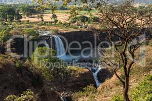 Landscape view near the Blue Nile falls, Tis-Isat Falls Ethiopia, Eastern Africa