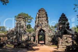 Preah Khan temple in complex Angkor Wat in Siem Reap, Cambodia