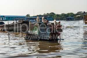 Floating village, Cambodia, Tonle Sap, Koh Rong island.
