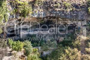 Monastery Neakuto Leab near Lalibela in Ethiopia