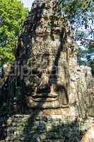 Victory gate of Angkor Thom at Siem Reap, Cambodia