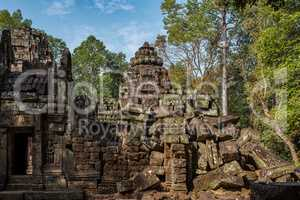Ta Som temple in Angkor Wat complex, Cambodia, Asia