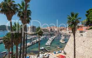 The Old Port in Dubrovnik,  Croatia
