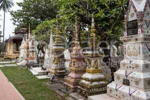 Wat Si Saket in Vientiane City, Laos.