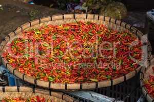 Night Market in Luang Prabang,Laos, Southeast Asia.