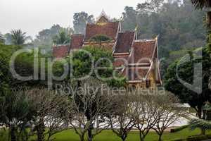 Royal Palace Haw kham in Luang Prabang, Laos, Asia
