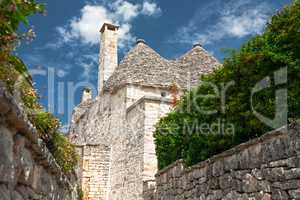 Typical Trulli houses in Alberobello, Puglia, Italy