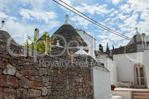 Trulli houses in Alberobello, Puglia, Italy