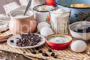 Ingredients of Homemade Oatmeal Cookies