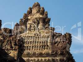 Angkor Wat is a temple complex in Siem Reap, Cambodia.