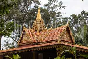 The Royal Independence Gardens in Siem Reap, Cambodia