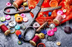 Sewing threads and accessories