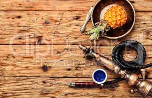 Fruit with hookah