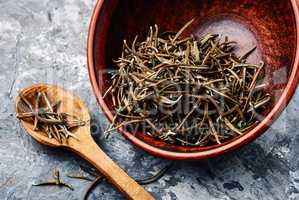 Dried herbs rosemary leaf