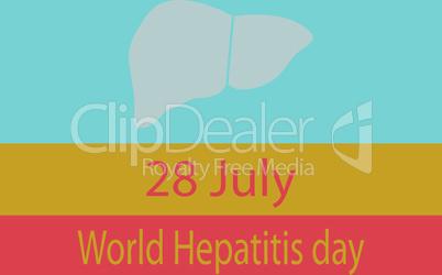 World liver Hepatitis day awareness